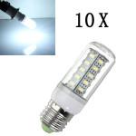 10X E27 LED Birnen 7W Weiß 36 SMD 5730 AC 220 V Mais Licht LED Lampen