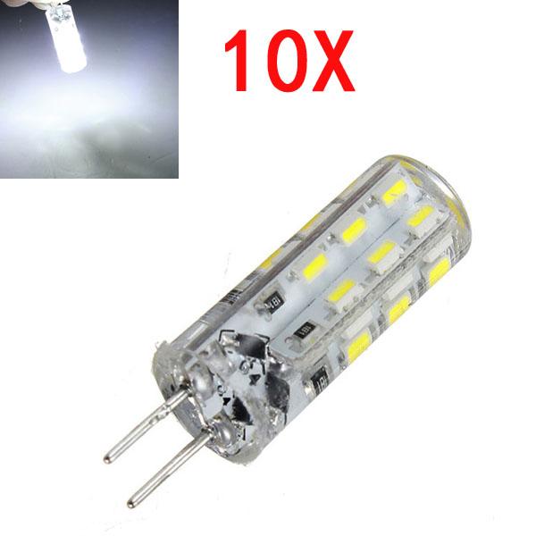 10X G4 1.5W Weiß 24 3014 SMD LED Glühlampe DC 12V LED Lampen