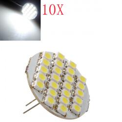 10x G4 SMD LED RV Camper Marine Cabinet Spot Light Bulb Cool White 12V