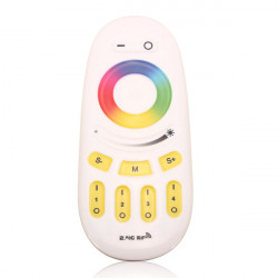 2.4G RF RGBW 4 Zone Touch Fernbedienung für RGBW / RGBWW LED Glühlampe