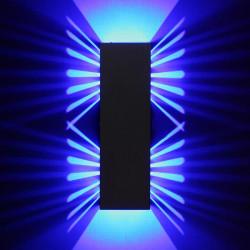 2W Fixtur Moderna Aluminium LED Vägglampa Sovrum Korridor Belysning