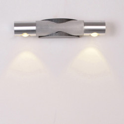 2W Modern Aluminum LED Wall Light Wall Mounted Lamp Fixture110-220V