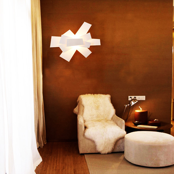 350mm White Foscarini Big Bang Wall Lamp Sconces Ceiling Lamp Light Wall Lights