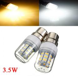 3.5W B22 White/Warm White 5730SMD 27 LED Corn Light Bulb 12V