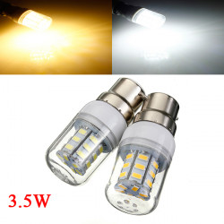 3.5W B22 White/Warm White 5730SMD 27 LED Corn Light Bulb 24V