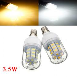 3.5W E12 weißes / warmes Weiß 5730SMD 27 LED Mais Glühlampe 12V