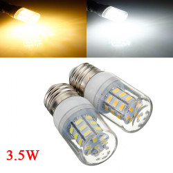 3.5W E26 White/Warm White 5730SMD 27 LED Corn Light Bulb 110V