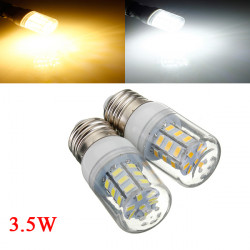 3.5W E26 weißes / warmes Weiß 5730SMD 27 LED Mais Glühlampe 24V