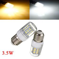 3.5W E27 weißes / warmes Weiß 5730SMD 27 LED Mais Glühlampe 12V