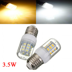 3.5W E27 White/Warm White 5730SMD 27 LED Corn Light Bulb 24V