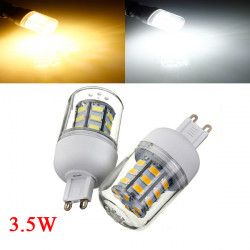 3.5W G9 White/Warm White 5730SMD 27 LED Corn Light Bulb 110V