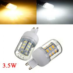 3.5W G9 weißes / warmes Weiß 5730SMD 27 LED Mais Glühlampe 24V