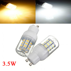 3.5W GU10 weiße / warme weiße 5730SMD 27 LED Mais Glühlampe 110V