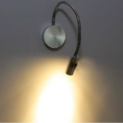 3W LED Spotlight Varmvit Wall Light med Switch AC 220V
