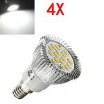 4X E14 6.5W LED Light White 5630 SMD 16 LED Spot Light Bulbs 220V LED Light Bulbs