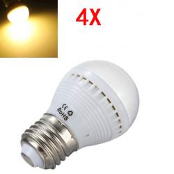4X E27 5W wärmen Weiß 29 SMD 5050 LED Glühlampe 220 240V