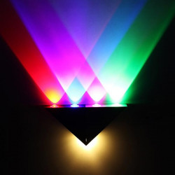 5W LED Wall Sconce Lights Fixture Colorful Decorative Lighting