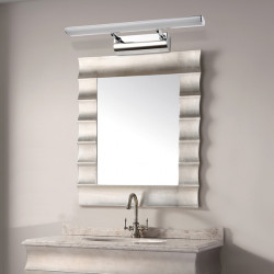5W Stainless Steel LED Mirror Wall Light For Home Bathroom