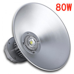 80W White/Warm White LED High Bay Light Industrial Lighting 110-220V