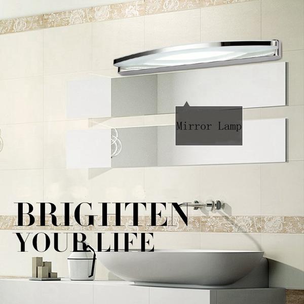 8W Moderne LED Vandtæt Anti-dug Spejl Væglampe Til Hjem Badeværelse Væglamper