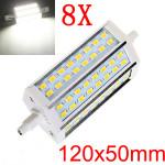 8X R7S 12W Pure Vit 48 SMD 5630 LED Lampa Glödlampor AC 90-265V LED-lampor