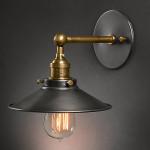 America Style Country Vintage Væglampe Edison Pære Jern Væglamper