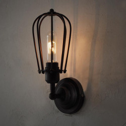 American Style Vintage Chandelier Industrial Edison Wall Lamp