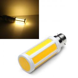B22 10W Varmvit COB LED Lampor AC 220V