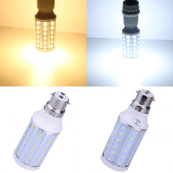 B22 10W Varmvit / Vit 60 SMD 2835 85-265V LED Corn Light Bulb