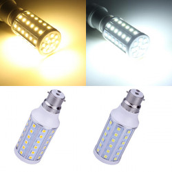 B22 10W Warm White/White 60 SMD 5050 220-240V LED Corn Light Bulb