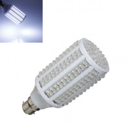 B22 13W 800LM 263 LED Pure White Energy Saving Light Bulb 220V