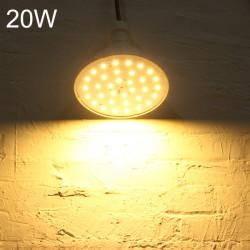 B22 20W 40 SMD 5730 Varmvit / Vit LED-lampa AC 220V
