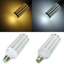 B22 21W LED White/Warm White 132LED SMD5050 Corn Light Lamp Bulb 110V
