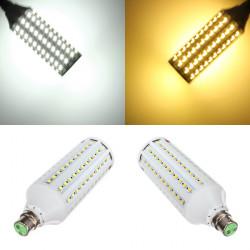 B22 24W White/Warm White 132 SMD5050 LED Corn Light Lamp Bulbs 220V