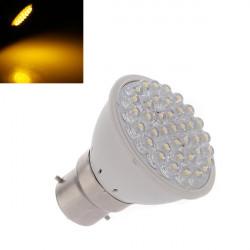 B22 2.5W 160LM Warm White 38 LED Punkt Glühlampe 110 240V
