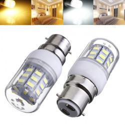 B22 3.5W 420LM AC220V Vit / Varmvit SMD 5730 LED Lampa