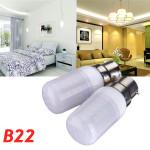 B22 3.5W Vit / Varmvit 5730SMD 420LM LED Lampa 110V LED-lampor