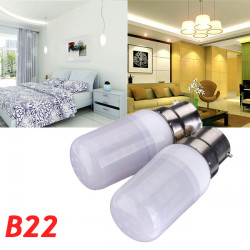 B22 3.5W White/Warm White 5730SMD 420LM LED Corn Light Bulb 110V