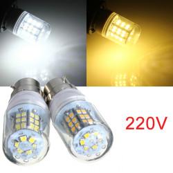 B22 3W Varm Hvid / Hvid 48 LED 2835 SMD Corn Lys Pære Lampe 220V