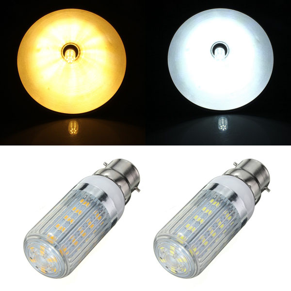 B22 4.5W weißes / warmes Weiß 36 SMD 5730 LED Mais Glühlampe 220V LED Lampen