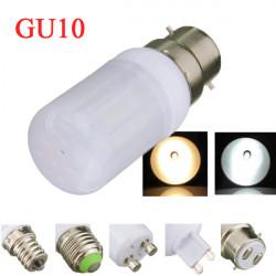 B22 4W 5730SMD White/Warm White LED Corn Lights Bulb Ivory Cover 110V