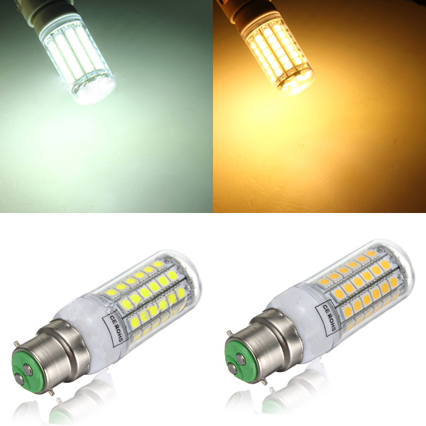B22 5.5W 828LM 69SMD 5050 LED Power Energy Saving Corn Light 220-240V LED Light Bulbs