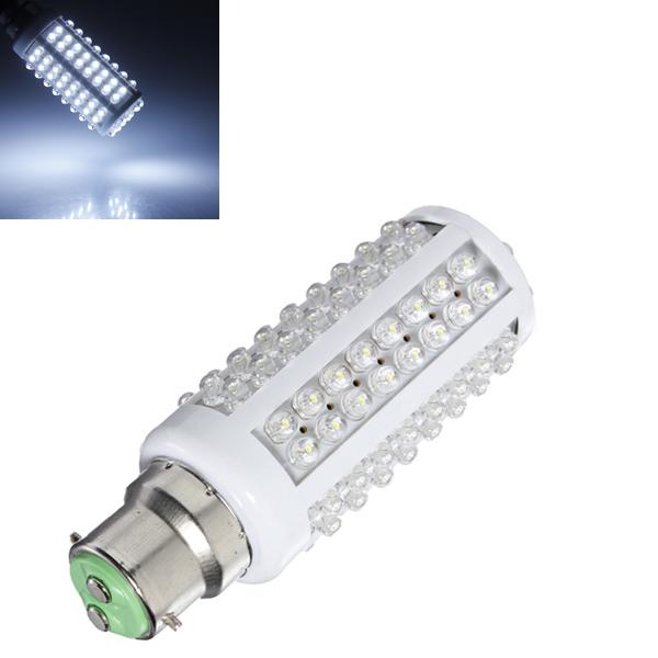 B22 5W 110V Cold White Bright 108LED Corn Lamp Light Bulb LED Light Bulbs