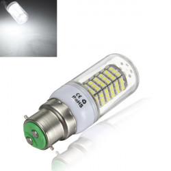 B22 5W Pure White 120SMD 3528 SinglyFire LED Bulbs AC 85V-265V