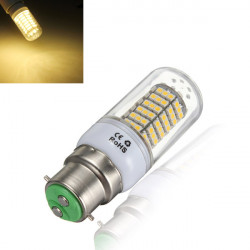 B22 5W Warm White 120SMD 3528 SinglyFire LED Bulbs AC 85V-265V