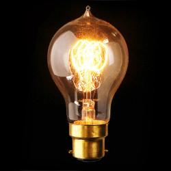 B22 60W A19 Vintage antike Edison Glühlampe 110V / 220V