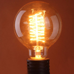 B22 60W Glühbirne 110 / 220V G125 Edison Wolfram Glühlampe