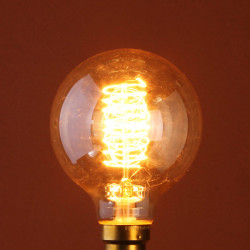B22 60W Incandescent Bulb 110/220V G80 Edison Style Light Bulb
