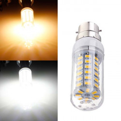 B22 6W Ultra Bright SMD 5730 AC 220V White/Warm White LED Corn Bulb