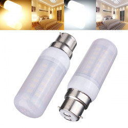 B22 6W White/Warm White 5730SMD LED Corn Bulb Frosted Cover AC 110V
